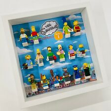 Display Frame for Lego The Simpsons Series 1 minifigures 71005 no figures 27cm