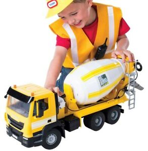 43056 Iveco Big Works Cement Mixer Scale 1.16 Brand New Quick Dispatch