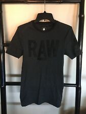 RAW G-STAR Size S Fitted Tshirt Top Grey Mens