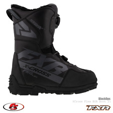 New 2021 Fxr X-Cross Pro Flex Boa Men's Snowmobile Boot BlackOps 12