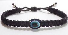 Evil Eye Amulet bracelet, Evil Eye Protection -new braided bracelet -black