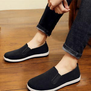 Chinese Style Slippers Kung Fu Martial Arts Tai Chi Shoes Rubber Sole Unisex