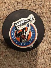NHL 1993 Centennial Stanley Cup Official Bettman Rare Game Puck!