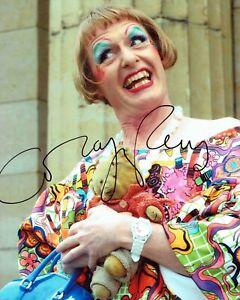 Grayson PERRY SIGNED Autograph 10x8 Photo 1 AFTAL COA Contemporary Artist