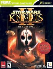 Star Wars Ser. Episode 1: Knights of the Old Republic II : The Sith Lords by Dav