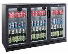 Kühlschrank Getränke Flaschenkühlschrank Glastür 330 Liter Umluft Gastro