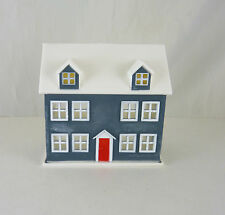 Dollhouse Miniature Doll's House, Grey and White, D3109