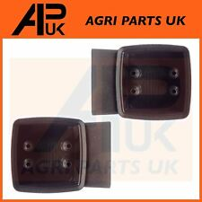 2x Front Side Light Indicator Lamp Support Brackets Case International Tractor