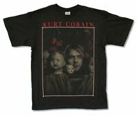 Kurt Cobain Nirvana Doll Heads Black T Shirt New Official Adult