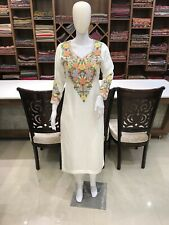 Kashmiri Embroidered Suit, Women Indian Ethnic Wear, Women Designer Salwar Suits