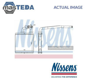 NISSENS HEATER RADIATOR EXCHANGER LHD ONLY 73675 P NEW OE REPLACEMENT