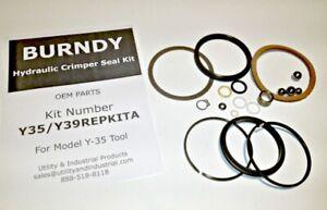 Seal Kit - Burndy Y35 Hydraulic Tool REPAIR KIT # Y35/Y39REPKITA