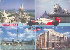 Marlboro McLaren Budapest Postcard Posted