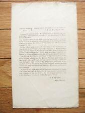 IOWA CIVIL WAR GENERAL SAMUEL CURTIS FAREWELL ORDER MISSOURI 1863