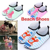 Kids Boys Girls Water Aqua Shoes Children Sport Beach Swim Exercise Footwear US