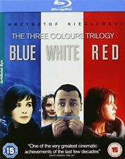 The Three Colours Trilogy Blu-ray DVD Region 2