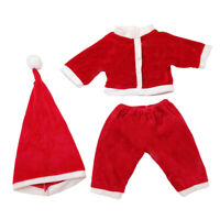 3Pcs Doll Outfit Set Tops Pants Hat for 50cm Reborn Baby Girl Doll Accs