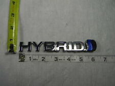 HONDA HYBRID LOGO CHROME EMBLEM BADGE TRIM NAME PLATE