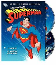 Ruby-Spears Superman, DC Comics Classic Collection (DVD, 2-Disc set) - Brand New