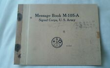 Copy of WW2 DDAY messages from US Info. On Omaha Beach Viewing from Offshore