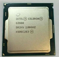 Intel Celeron G3900 CPU Dual-Core 2.8GHz 2M 51W SR2HV LGA1151 Processor