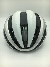 Fahrradhelm Radhelm Giro Synthe MIPS Rennrad-Helm Weiß Silber Größe M (55-59cm)