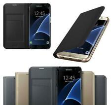 Funda tipo billetera de cuero con cierre magnético para Samsung GALAXY S7 S8 A3 A5 Funda Protectora