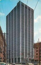 Atlanta GA~Georgia Power Building~Since Replaced~Book Store~1950s Cars~Postcard