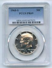 1968 S 50C Kennedy Half Dollar PCGS PR69