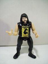 """VINTAGE WWF CACTUS JACK MICRO MINI WRESTLER 3"""" ACTION FIGURE JAKKS 1990'S WWE"""