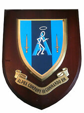 40 Commando Alpha Company Royal Marines Military Wall Plaque UK Made for MOD