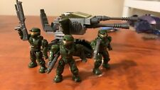 Mega Bloks Halo UNSC Turret Set #96801 With Figures And Weapons