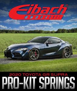Fits 2020 Toyota Supra (A90) Eibach PRO-KIT Performance Springs E10-82-089-01-22