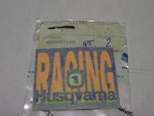 "ADESIVO - DECALO ""HUSQVARNA RACING"" --- 800080160"