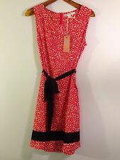 Brand-New Red Dress w/White Spots, Black Trim by Brooklyn Industries, XL