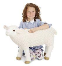 Large Sheep Plush Toy Stuffed Animal Realistic Big Doll Lifelike Cuddle Kid Gift