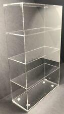 "Acrylic Cabinet Counter top Display Showcase Box 16""x6""x16"" Display Box Acrylic"