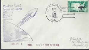 12/14/62 Launch of Relay 1 on a Thor Rocket from Canaveral