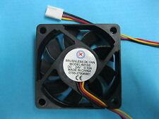 8 pcs Brushless DC Cooling Fan 24V 6015S 9 Blades 60x60x15mm 3pin Sleeve-bearing