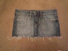 TOPSHOP denim mini skirt size 10