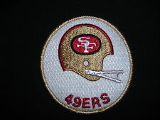 NEW SAN FRANCISCO 49ERS EMBROIDERED SEW-ON PATCH - FREE SHIPPING