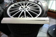 original Mercedes Amg Leisten Satz Verkleidung Alu poliert C Klasse W204 S204