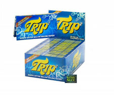 Trip 2 Transparent Clear Rolling Paper Cellulose Cigarette Joint Rollers
