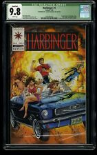 Harbinger #1 CGC NM/M 9.8 White Pages (Qualified)