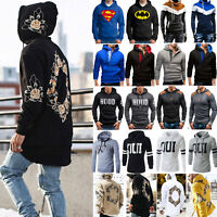 Men's Hoodies Hood Coat Jacket Sweater Sweatshirt Jumper Tops Casual Outwear