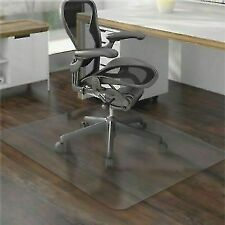 36 X 48 Hard Floor Home Office PVC Floor Mat Square for Office Rolling Chair US