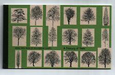 DX26  PRESTIGE BOOKLET TREASURE OF TREES STAMPS