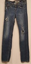 Hollister Womens Junior size 1R Distressed Jeans w25 L33 SEE PHOTOS