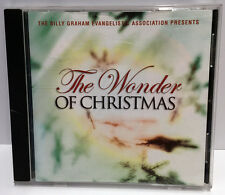 WONDER OF CHRISTMAS Tommy Coomes Band Holiday CD (2002) Billy Graham