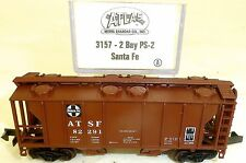 Santa 2Bay ps-2 Vagón de mercancía US Atlas 3157 N 1:160 emb.orig å